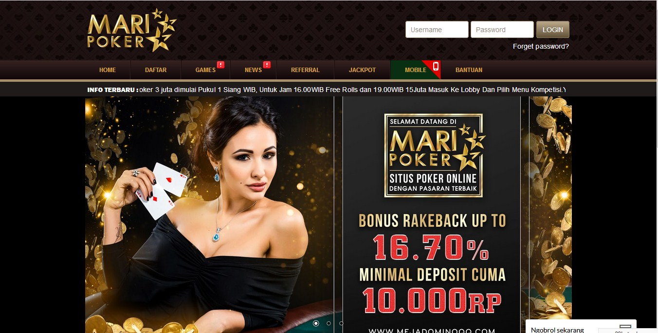 Website Domino QQ MARIPOKER