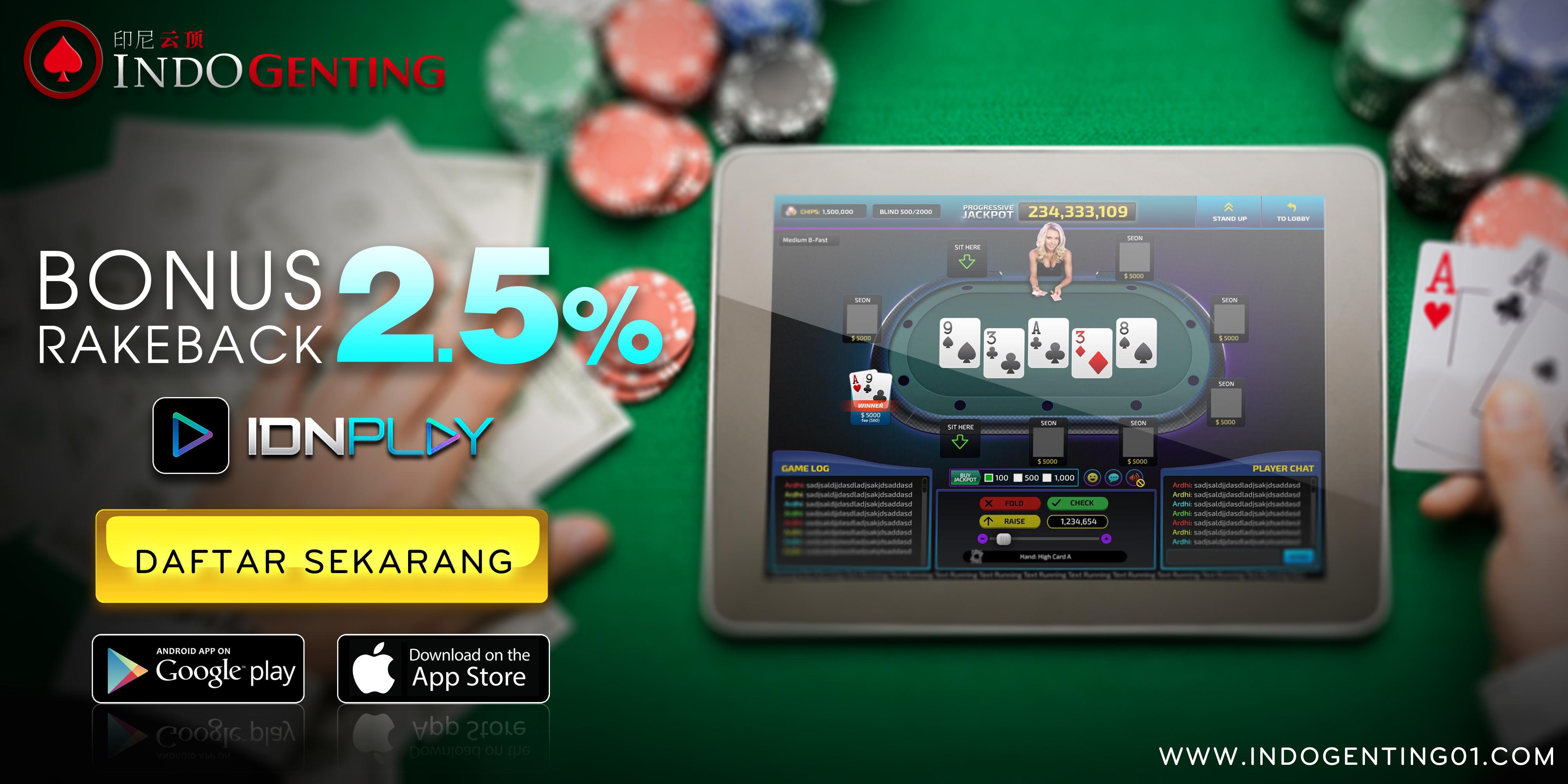 Trik dan Cara Bermain Poker